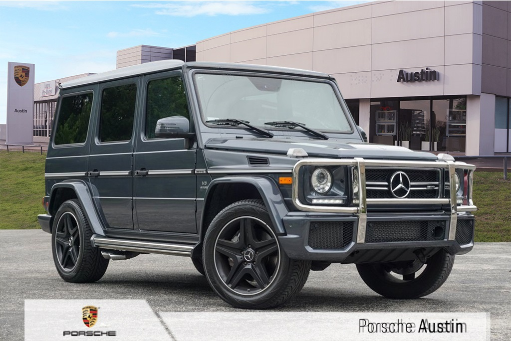Pre-Owned 2017 Mercedes-Benz G-Class 63 AMG 4MATIC®