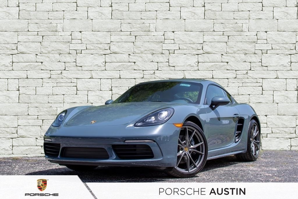 New 2018 Porsche 718 Cayman PDK