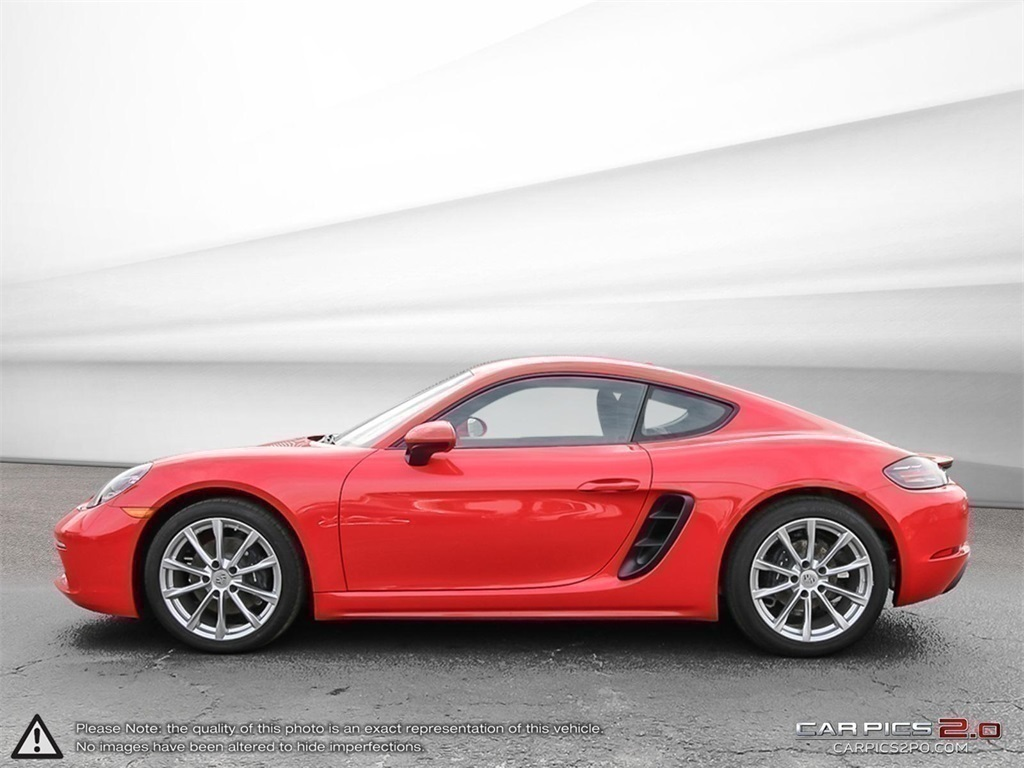 Certified Pre-Owned 2018 Porsche 718 Cayman DEMO