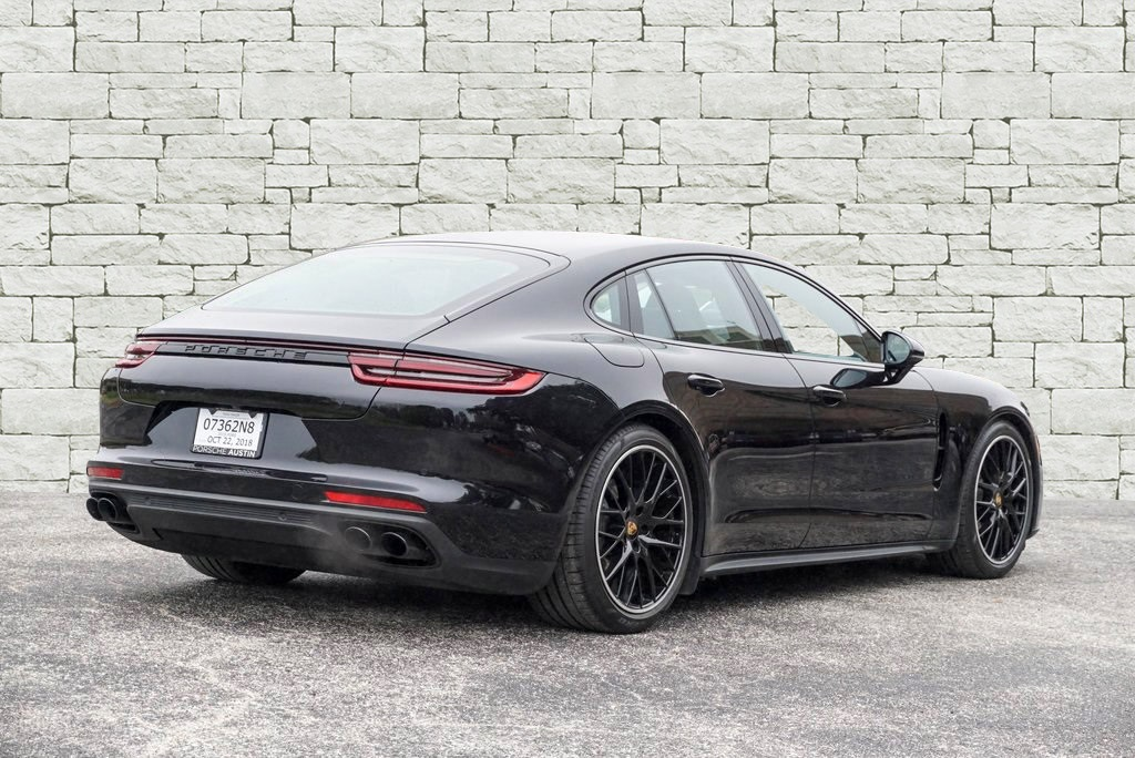 Certified Pre-Owned 2018 Porsche Panamera 4S DEMO