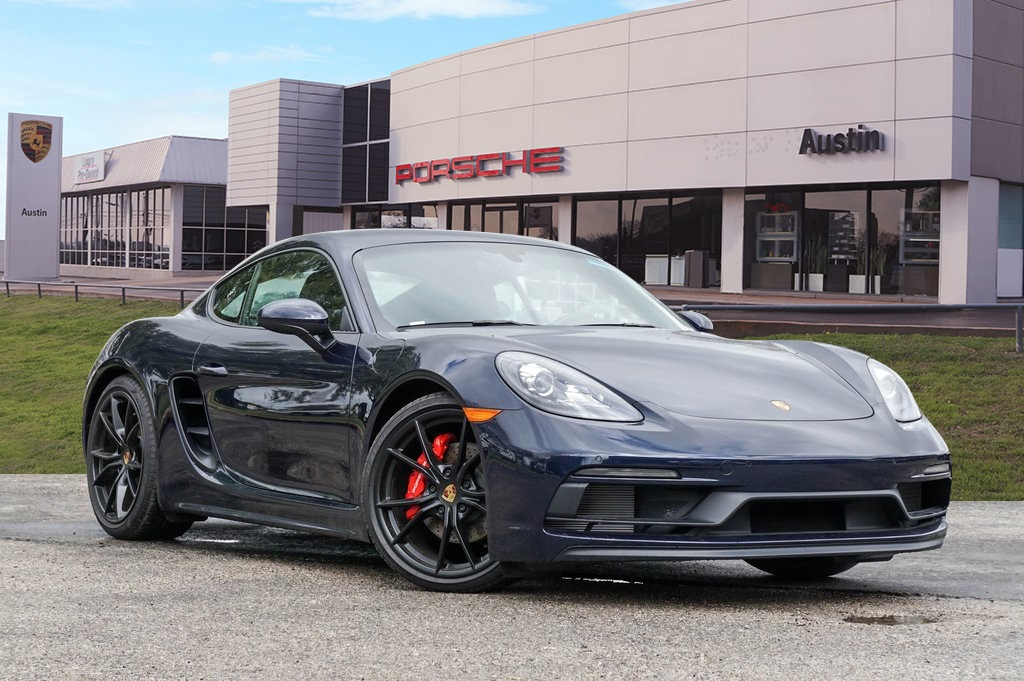 2019 Porsche 718 Cayman Demo
