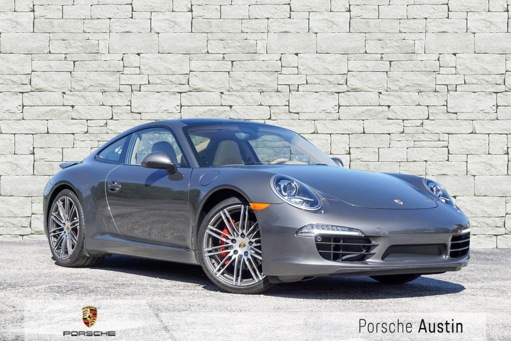 Certified Pre Owned 2016 Porsche 911 Carrera S 2d Coupe In Austin Pp5458