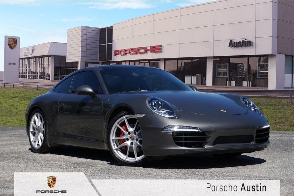 Certified Pre Owned 2016 Porsche 911 Carrera S 2d Coupe In Austin W10924b
