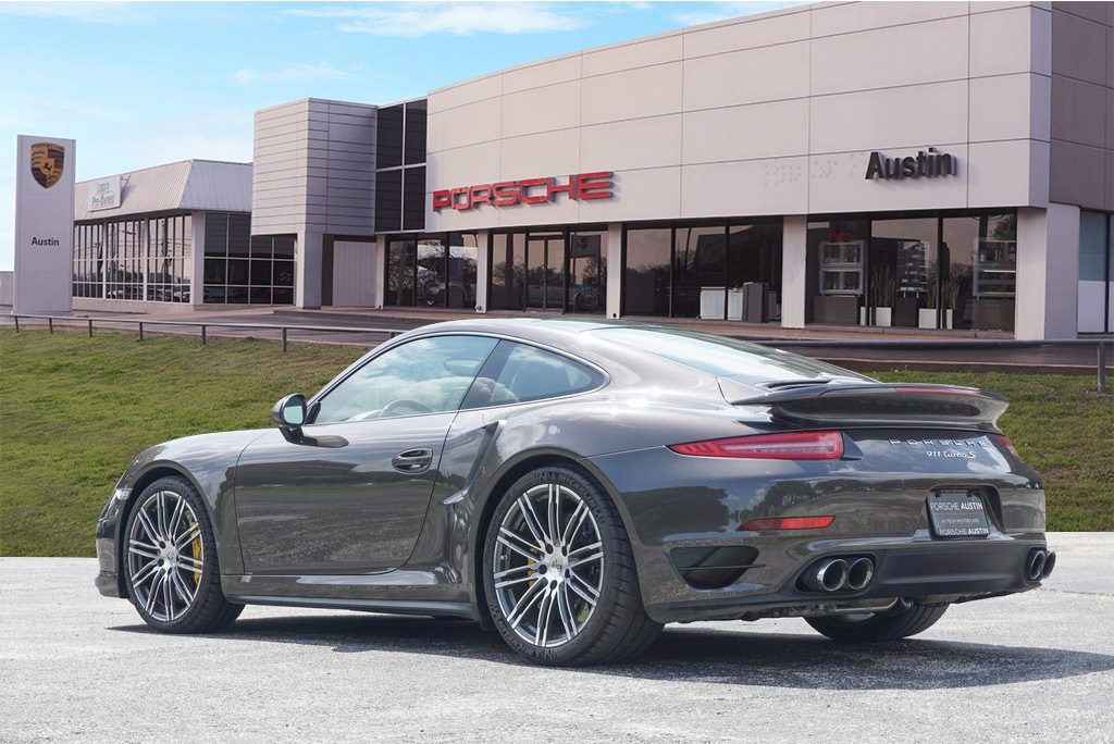 Pre-Owned 2014 Porsche 911 Turbo S