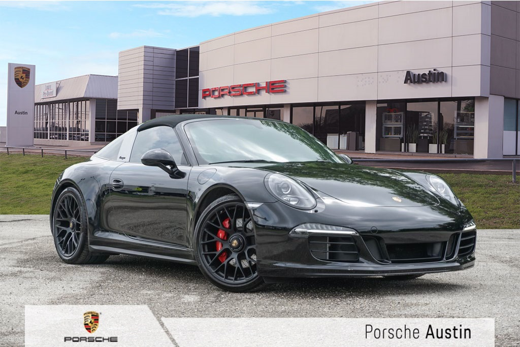 Pre Owned 2016 Porsche 911 Targa 4 Gts 2d Coupe In Austin Pp5538