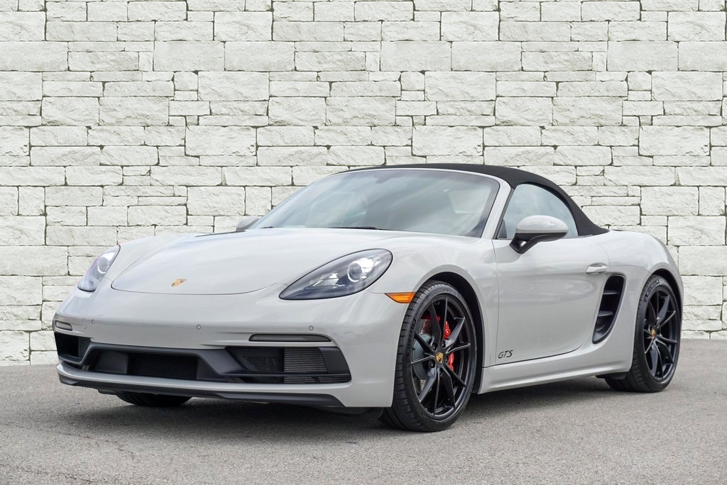 New 2018 Porsche 718 Boxster GTS DEMO