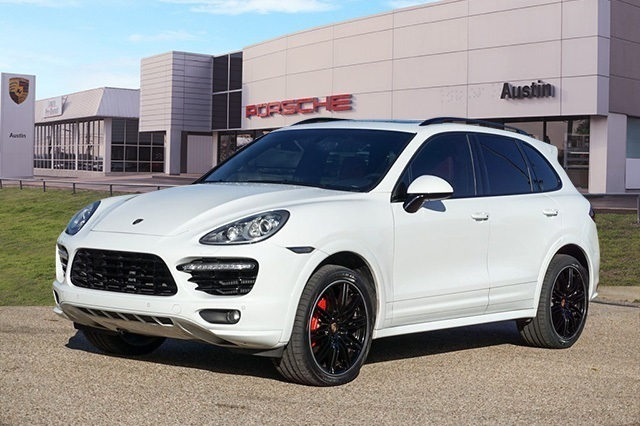 Certified Pre-Owned 2014 Porsche Cayenne Turbo S