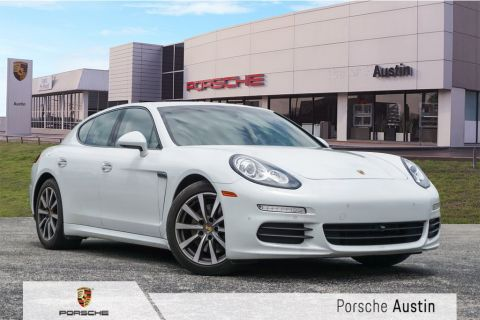 Pre-Owned 2016 Porsche Panamera Edition