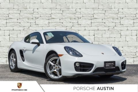 Certified Pre-Owned 2015 Porsche Cayman