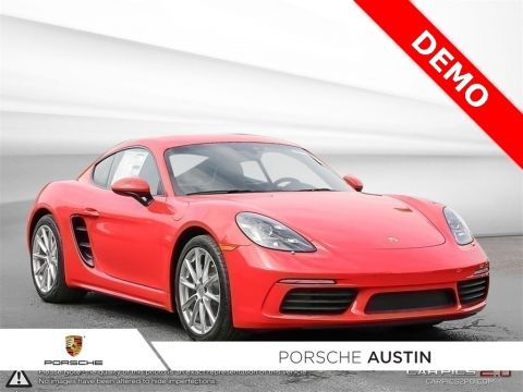 New 2018 Porsche 718 Cayman DEMO