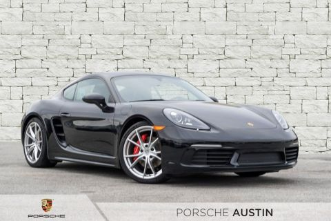New 2018 Porsche 718 Cayman S DEMO