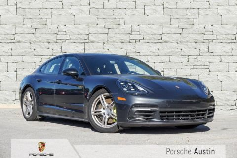 Certified Pre-Owned 2018 Porsche Panamera 4 E-Hybrid DEMO