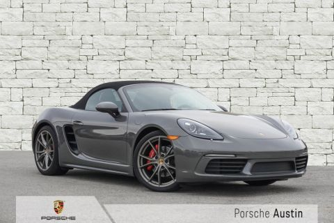 Demo 2018 Porsche 718 Boxster S Demo