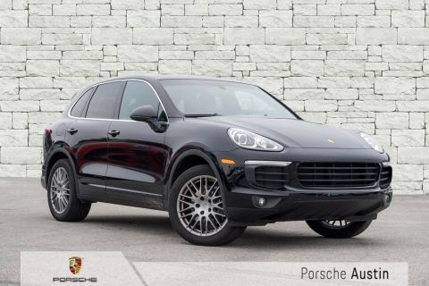 Certified Pre-Owned 2018 Porsche Cayenne DEMO