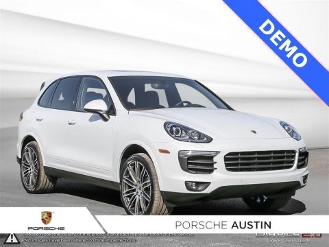 New 2018 Porsche Cayenne Platinum Edition DEMO