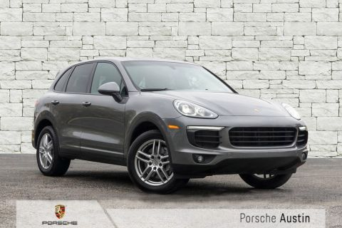 Pre-Owned 2018 Porsche Cayenne AWD DEMO