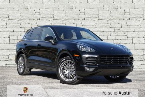 New 2018 Porsche Cayenne AWD DEMO