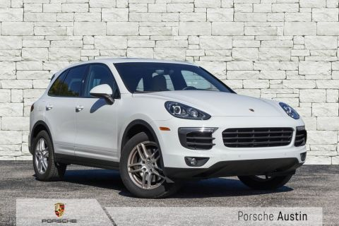 New 2018 Porsche Cayenne DEMO