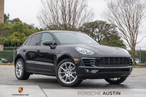 New 2018 Porsche Macan DEMO